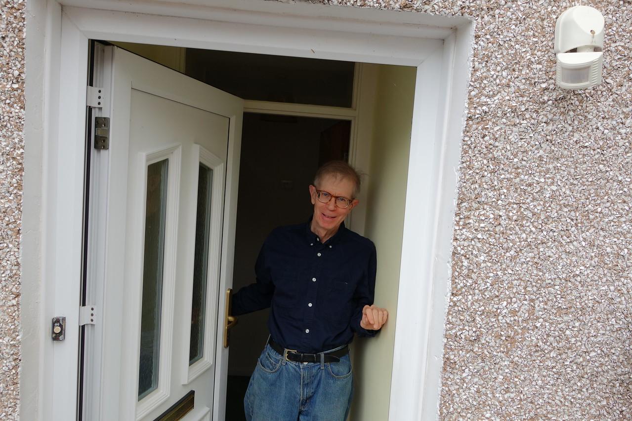 Saturday, June 11 - Bob greeting us
