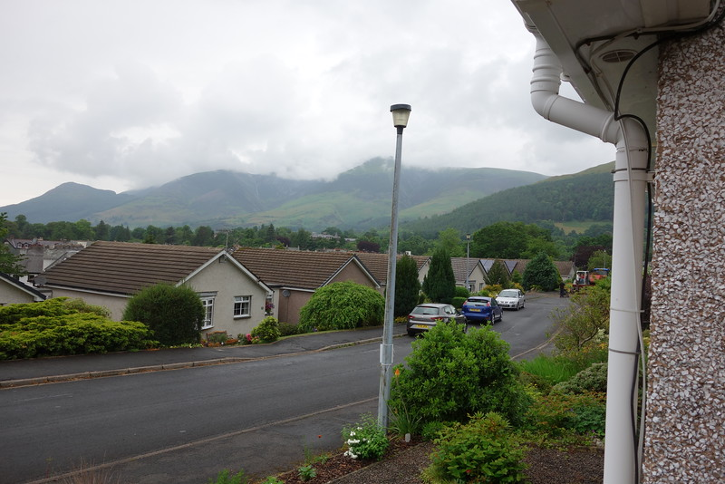 Keswick - Grizedale Close, the street in front of Bob's cottage