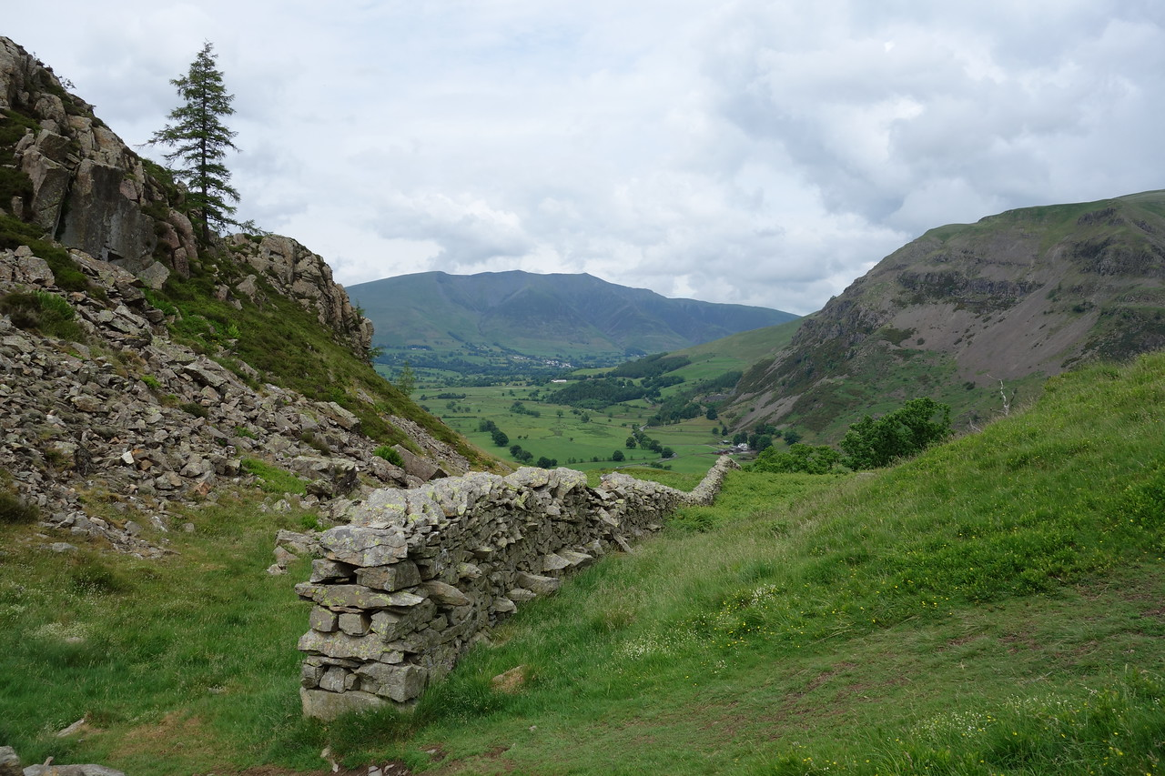 One of many stone walls