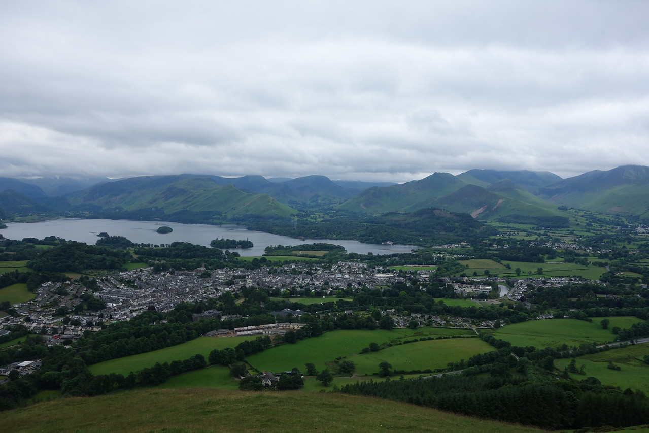 Keswick from the Latrig trail