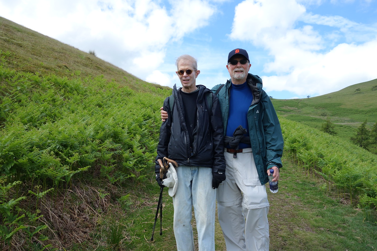 David and Bob on Low Fell