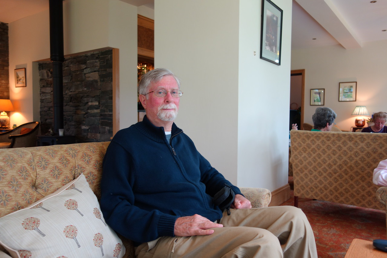 David at Barrowdale Gates Hotel.