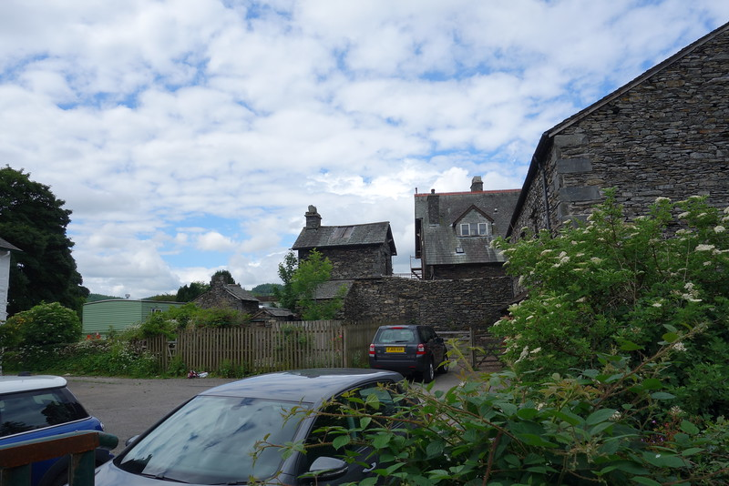 Near Sawrey.  We went there to see Beatrix Potters house