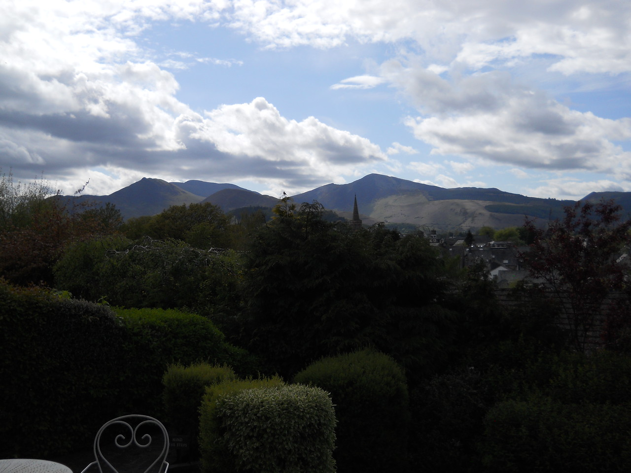 The views were fantastic