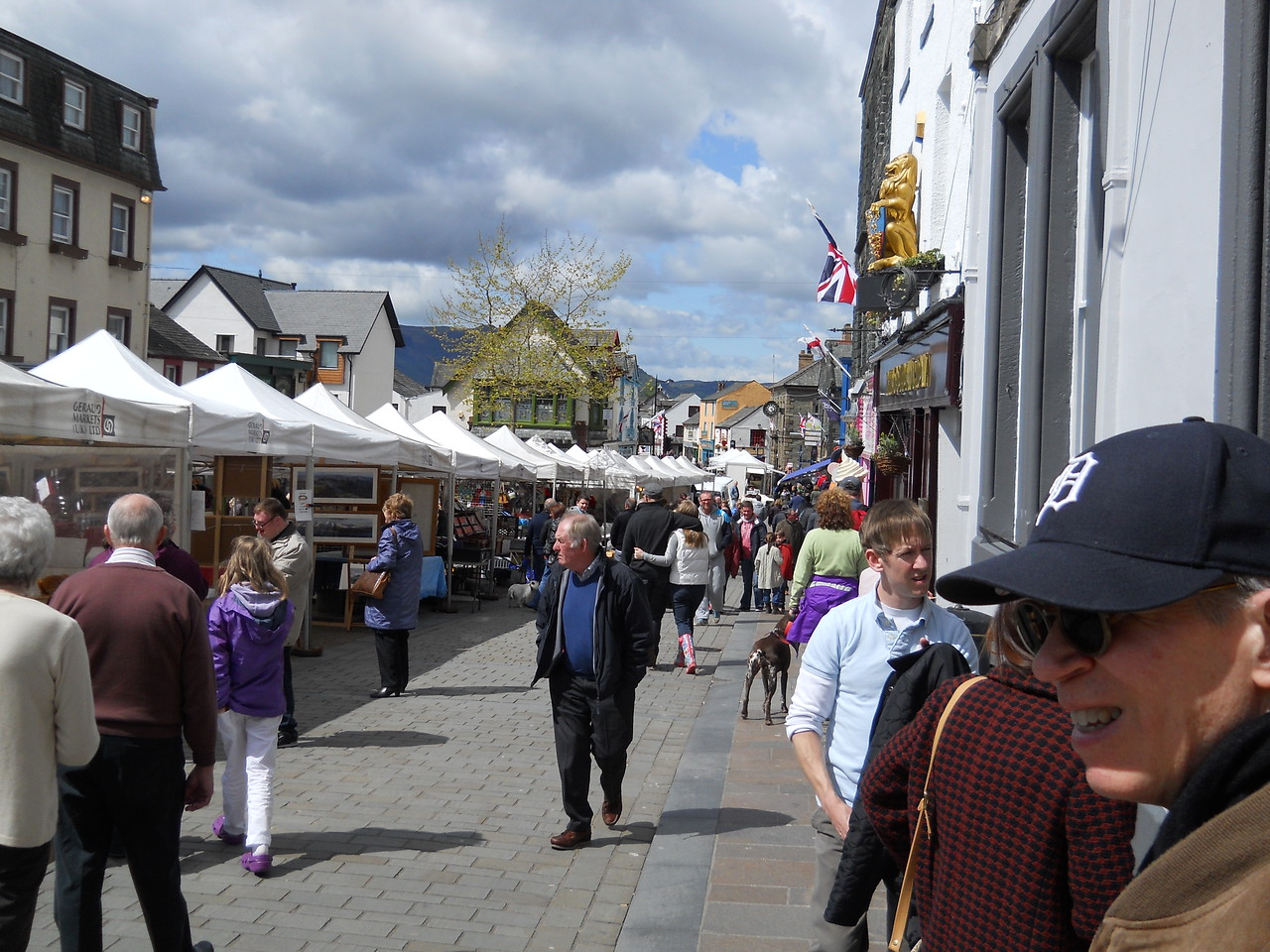 Saturday, May 12 - Downtown Keswick on market day