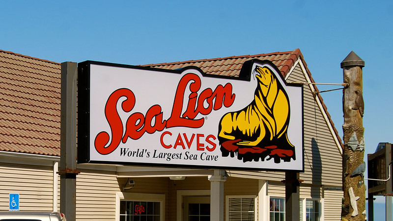 Sea Lions Caves
