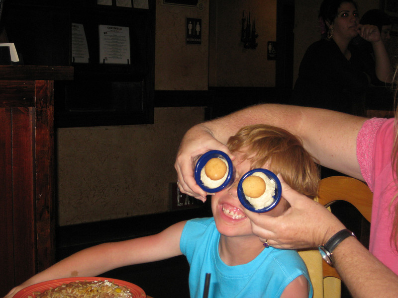 Why yes, I can see you better now!!  (FYI - that is ice cream scoops)