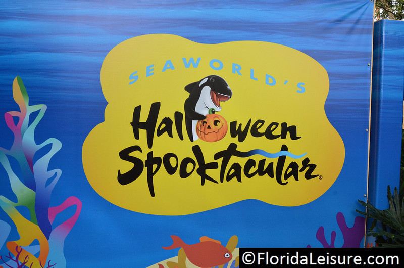 October 2012: Selected weekends SeaWorld Orlando's Halloween Spooktacular - Orlando, Florida. (Florida Leisure - Nigel Worrall)