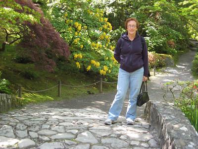 Me in the Japanese garden (Al's pic)