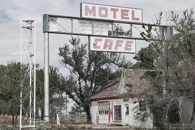 Glenrio Motel and Cafe Route 66