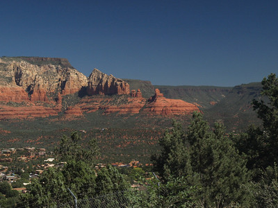 Day 2, scenic stop above Sedona