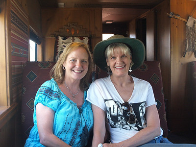 On the Verde Canyon Railroad