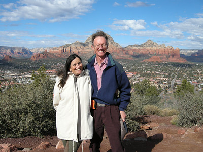 Michèle & Bryan. Photo taken by Marv.