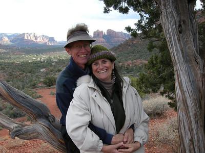 Bryan & Michèle. Happy! Photo taken by Marv.