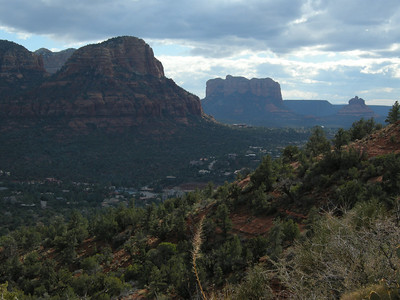 Vista from area of Airport Vortex, with Bell Rock in distance on right.