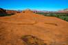 Broken Arrow Trail.  The red rock plateau was very impressive