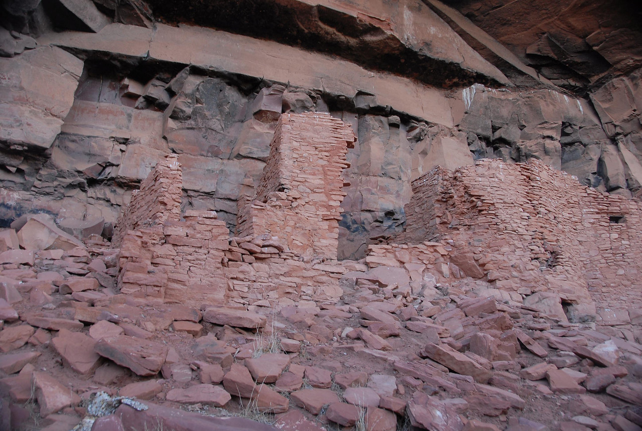 Old ruins in west sedona