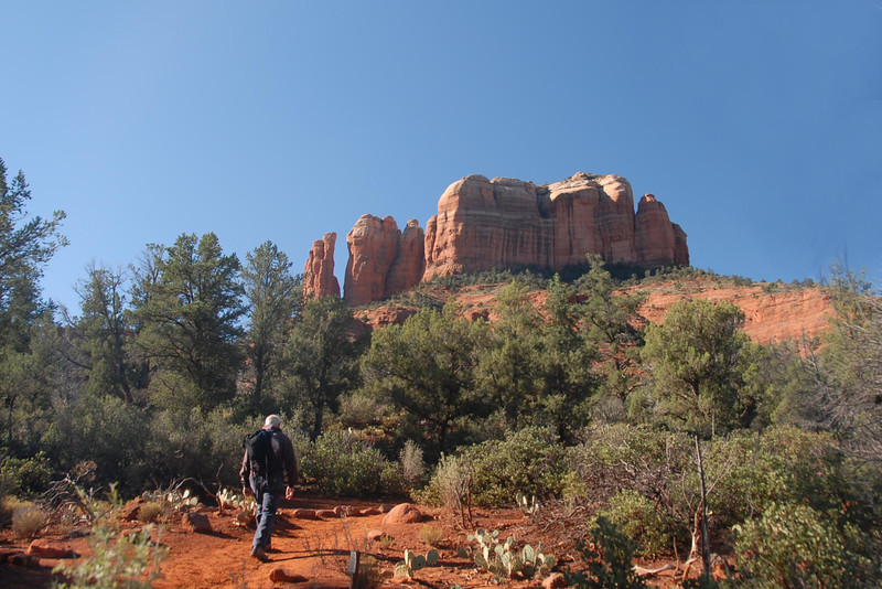 Our hike to Cathedral Rock.
