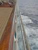 A deck and ocean view from the Enchantment of the Seas