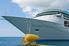 The Enchantment of the Seas docked in Ocho Rios