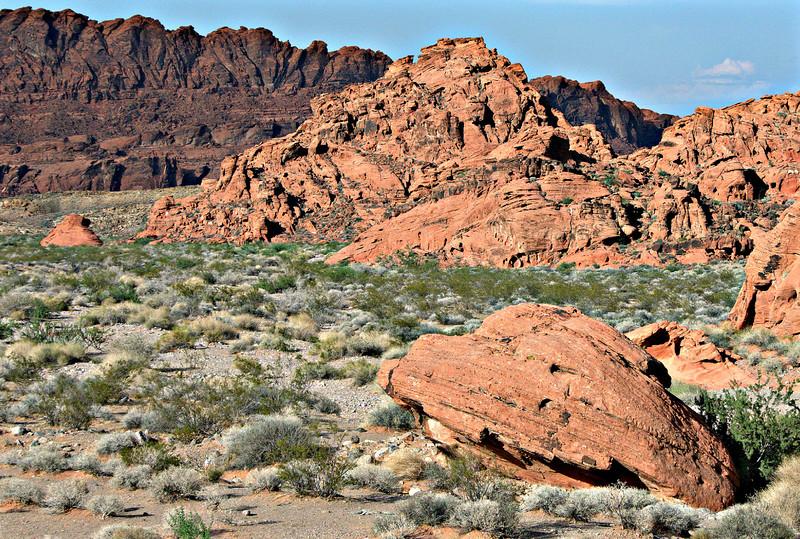 Sandstone basin