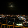 Moon over Las Vegas