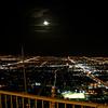 Moon over Las Vegas