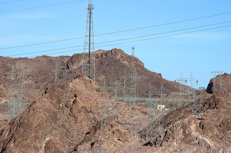 Telephoto of Upper Distribution Towers