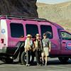 Pink Jeep Tour Van