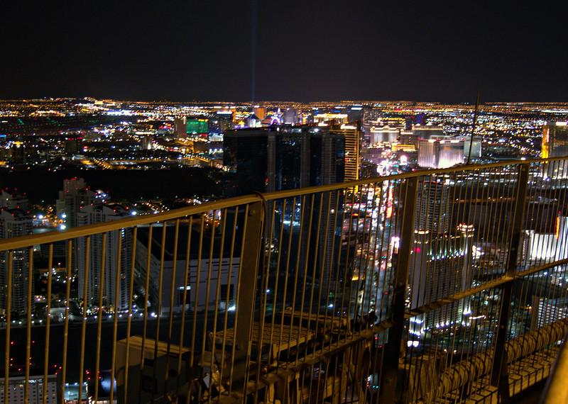 Las Vegas from Observation Deck