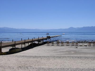 Lake Tahoe North Shore, looking south.
