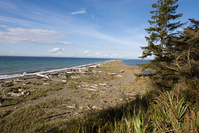 Dungeness Spit.  (The mountains in the distance are Vancouver Island in Canada.)
