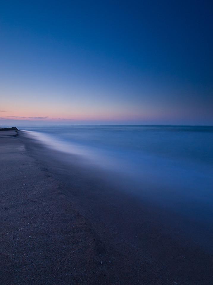 Um 05:30 am Strand
