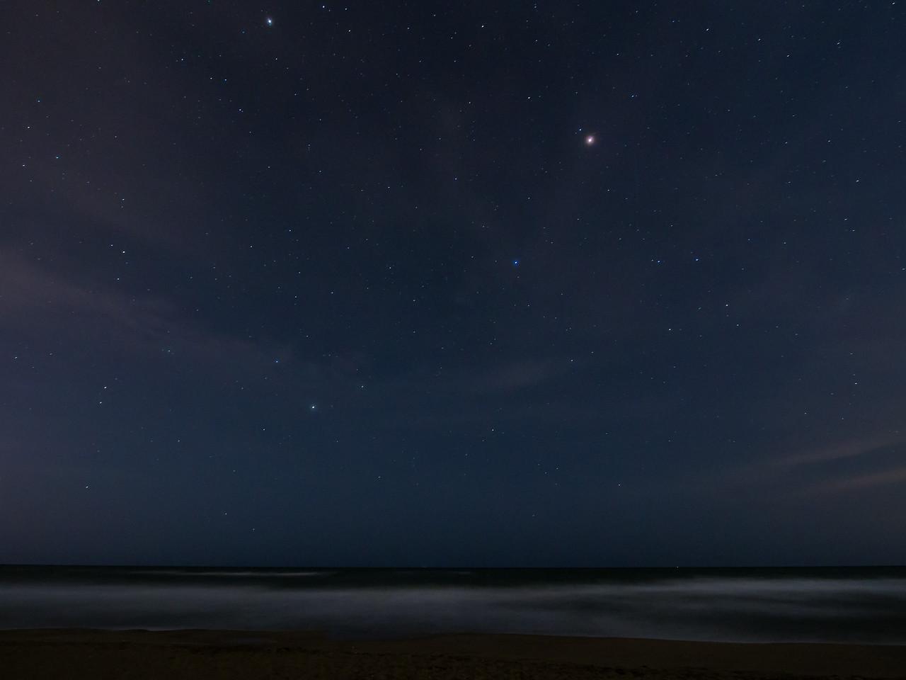 Sternenhimmel... Merkur und Saturn