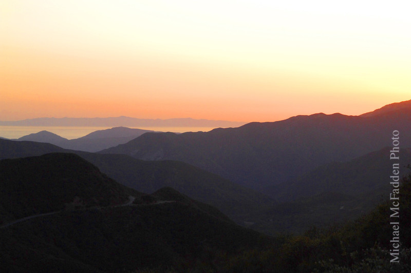 Highway 33 Los Padres National Forest