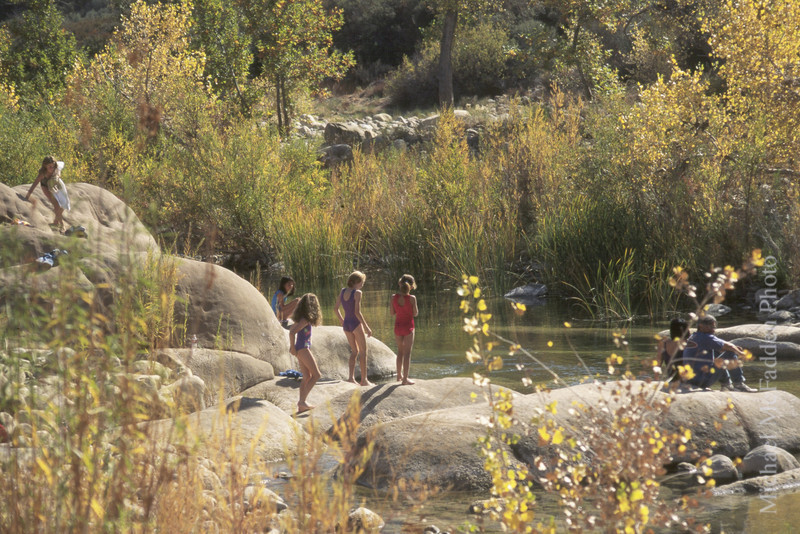Swimming Hole Sespe Creek, Sespe Wilderness Los Padres National Forest