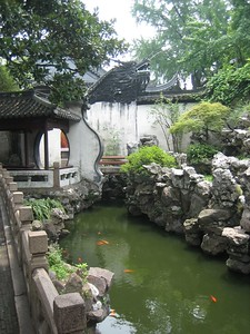 Yu Yuen (Yu Garden) -- very popular tourist attraction in the Old Town section of Shanghai.