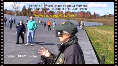 VIDEO:  United Flight # 93 Crash Site in Shanksville, Pa on 9-11-2001