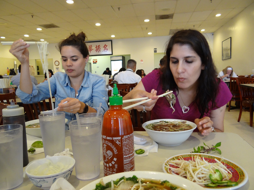 Now we have introduced just about everyone we know to Pho 75.  We should start receiving our kickbacks soon.