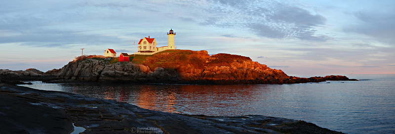 Nubble Lighthouse Evening
