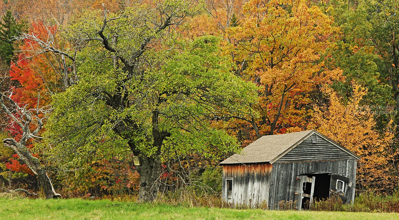 Old Barn on Hwy. 9, NH
