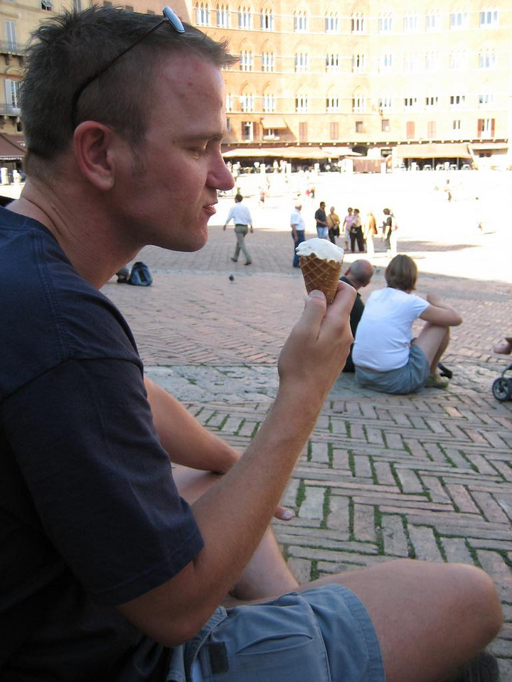 Sjoerd and ice cream