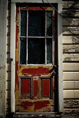 Georgetown door.