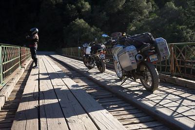 The North Bloomfield Road bridge over the North Yuba River.