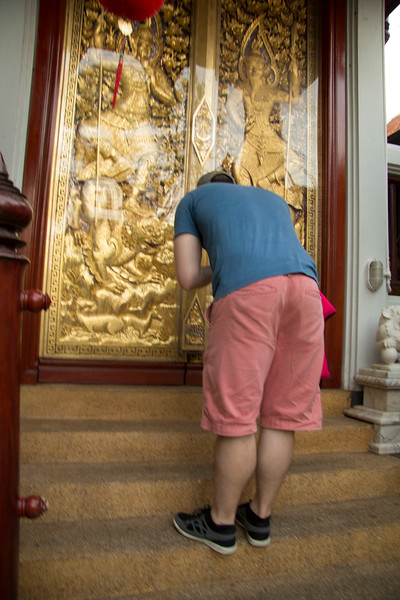 Thailand temple around Amphawa
