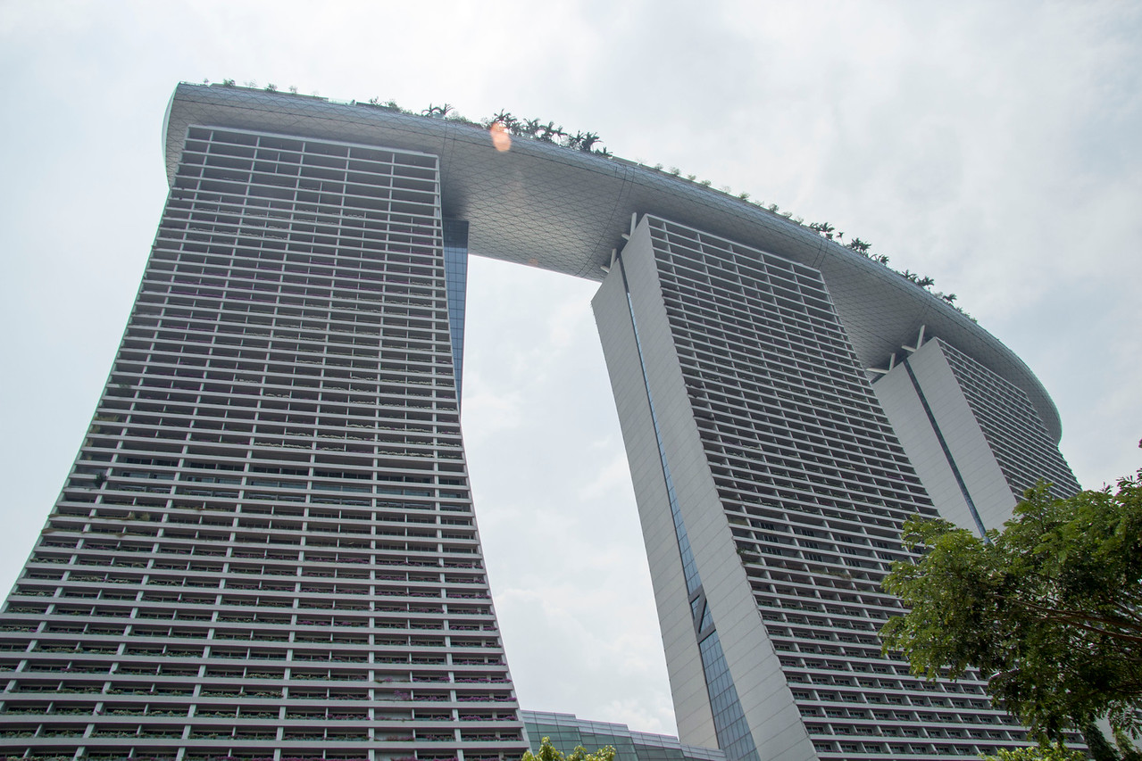 Singapore Marina Bay Sands  the world's most expensive standalone casino property at S$8 billion