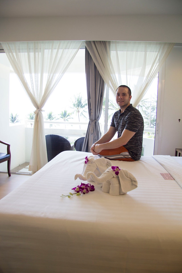 Thailand Phuket, Southern Thailand resort at the tranquil southern end of Patong Bay