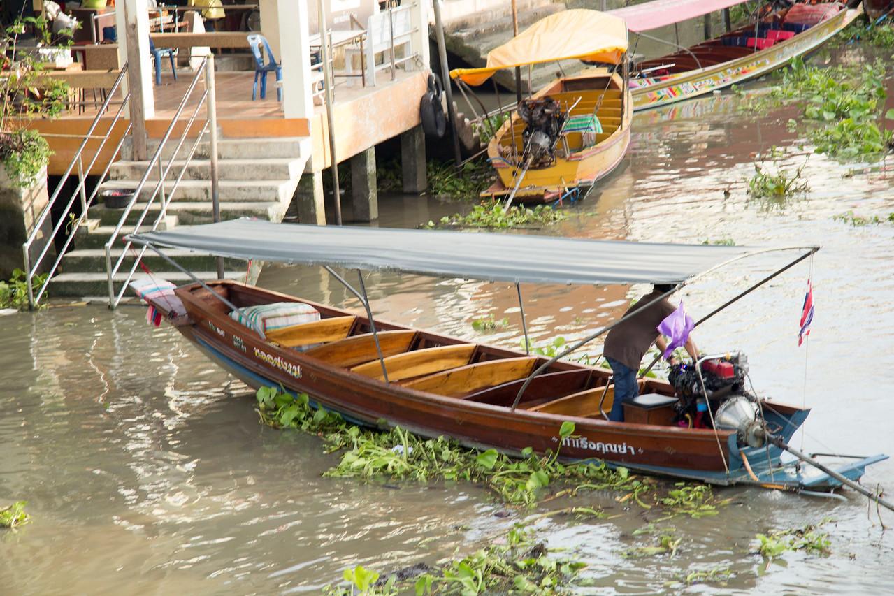 Thailand Amphawa Floating Market
