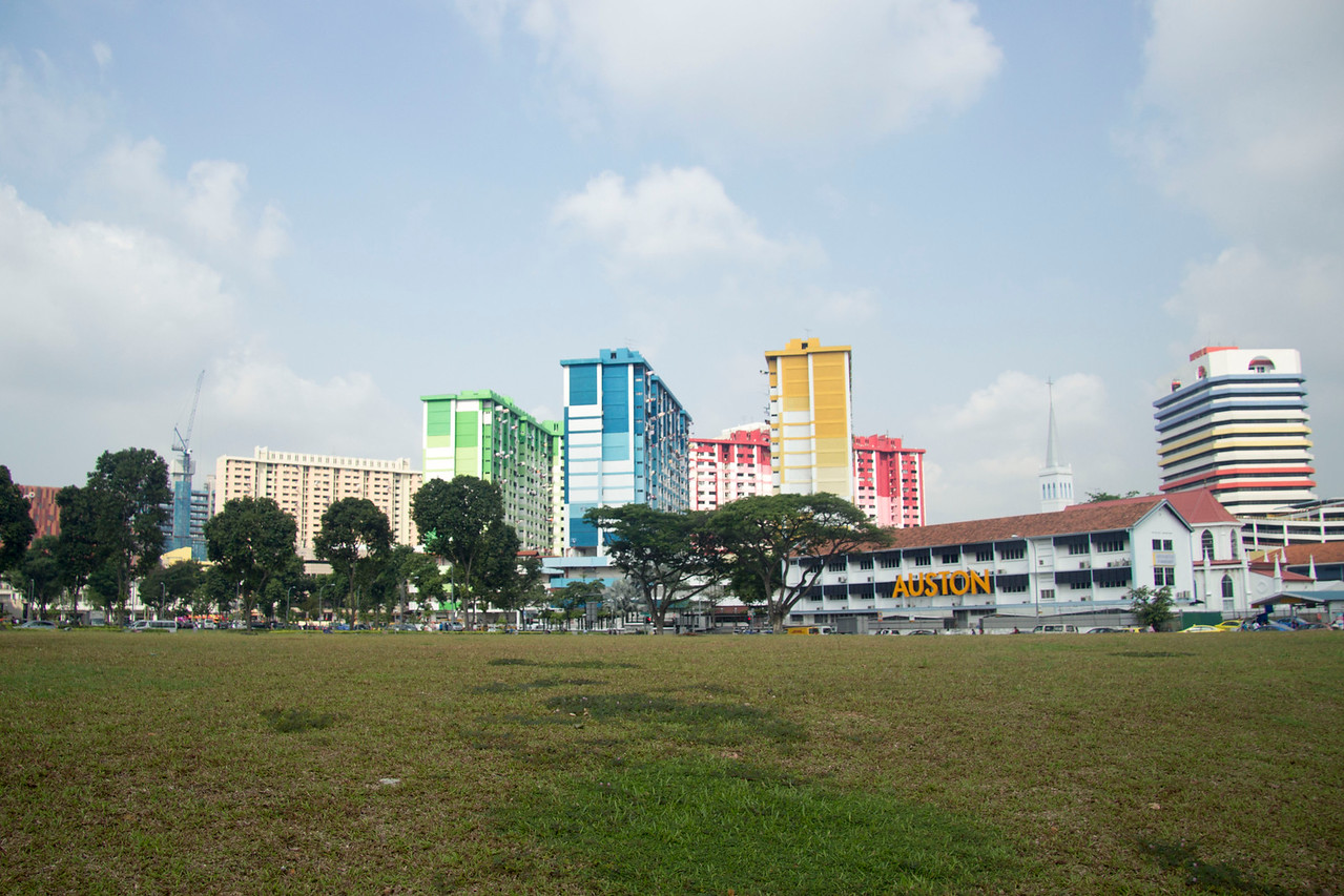 Singapore colorful buildings