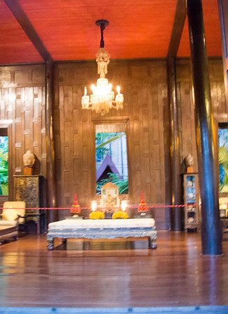 Thailand The Jim Thompson House is now a museum in Bangkok. It is a complex of various old Thai structures that the American businessman Jim Thompson collected from all parts of Thailand in the 1950s and 1960s.